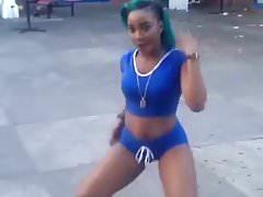 Jamaican Girl Dancing