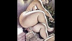 Bizare cartoon