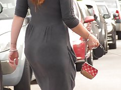 13 jiggly ass red hair girl