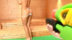 Danni Levy - Big Boobs & Oil #2