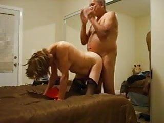 Grandpa and Grandma - grandpa fucks to grandma