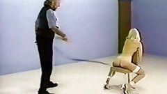 The retro sluts on the whipping chair