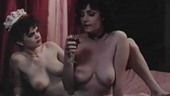 Retro Lesbians Enjoy Rubbing Their Pussies