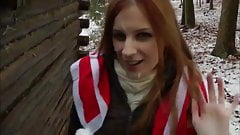 Redhead Outdoor Winter Facial