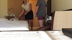 Maid bulge flash cock.mov