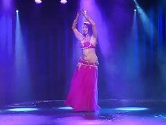 Curvy Muslim Arab Belly Dancer
