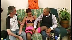 Anais gets punished in a gangbang's Thumb