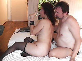 Hotwife Sara With Her Bull Hubby Cleans Her Later