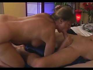 MILF wants to be the first to fuck her stepson