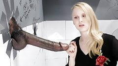 Lily Rader Sucks And Fucks Big Black Dick - Gloryhole's Thumb