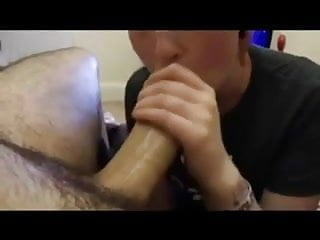 Sucking a fat dick