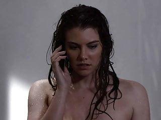 Lauren Cohan Naked Bathing Scene on ScandalPlanetCom