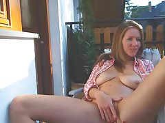 At Home Outdoor Wife Neighbour