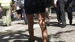 Short Skirt n Panty Lines (Love em')
