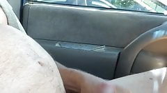 Front Seat Parking Lot Wank With Rings