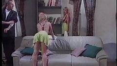 Stud spanking three girls behinds