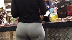 Candid Booty Pawg Perfect Ass in Cafeteria