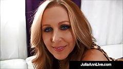Mega Hot Milf Julia Ann Slobbe