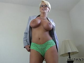 I think you will love the new panties I have on JOI