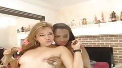 Ebony and Ivory Cam
