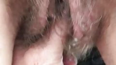 big lips hairy fingering 2