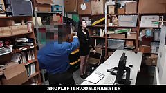 Shoplyfter - Pale Skinny Teen Banned & Fucked For Stealing