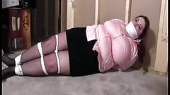 Bbw Joy found bound and gagged