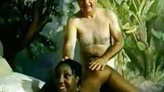 Black Ebony Teen Really Enjoying Herself Here