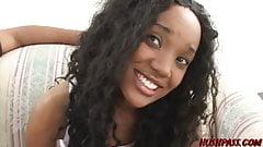 Big ass ebony Capre blows studs BBC before hard banging