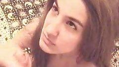 Jasna facial cumshot 2