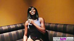 HOt black girl Karma May has a sextalk