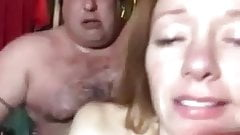 Dirty-Talking Redhead Milf Gets Fucked by Fat Dude