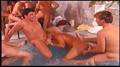 Wild Pool Gangbang Orgy -1-