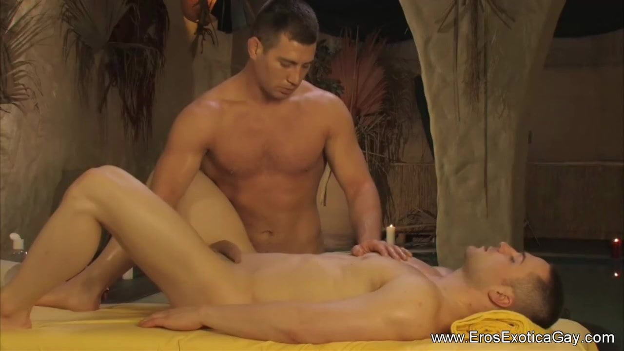 Therapeutic massage For His Drained Butt