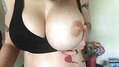 Beautiful Big Natural Milky Tits