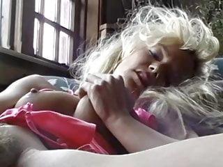 A white goddess, blonde all over