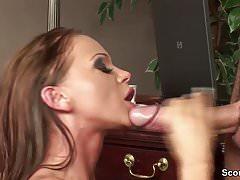 Huge Dick Boy Seduce Hot Office Bitch to Fuck her Ass