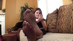 Sexy Mature Nylon Feet
