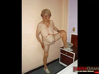 LatinaGrannY Hot Amateur Grandma Compilation Video
