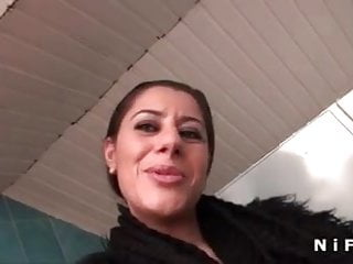 Preview 1 of French arab milf in stockings gets banged