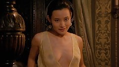 Joan Chen Juicy Nipples In Tai-Pan Movie ScandalPlanet.Com