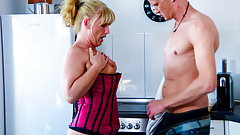 AmateurEuro - Hot GILF Annette Liselotte Takes Morning Cock