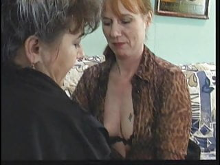 Mature brunette babe licks her friends wet pussy