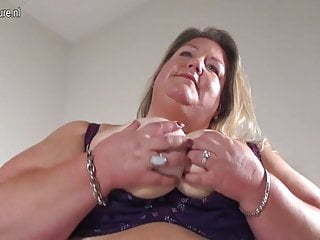 Naughty Big Booty Dutch Bbw Mom And Her Toy