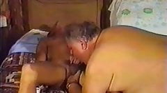 Big Fat Man and Young Cock