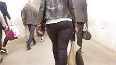 Big tight ass in black