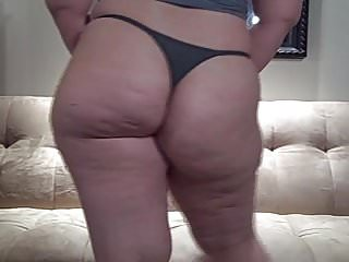 Big Ass PAWG in Thong Sexy Chubby Tease