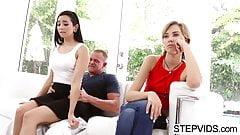 Stepdad fucks Malina Mars at fathers day