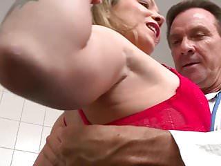 German Milf visits Doctor big dick