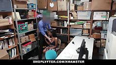 Shoplyfter - Sucking Cock To Avoid Jail